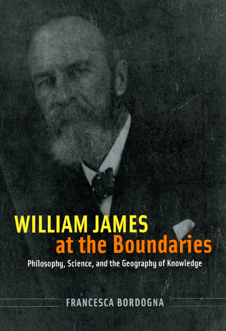 william james at the boundaries  philosophy  science  and