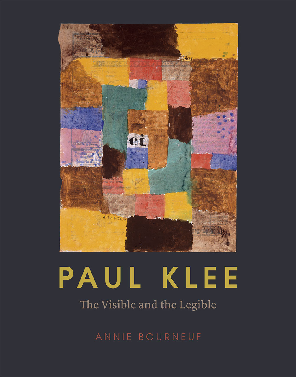 paul klee the visible and the legible bourneuf