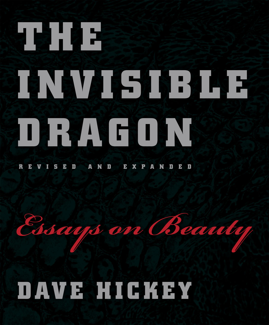 beauty essays the invisible dragon essays on beauty revised and expanded hickey