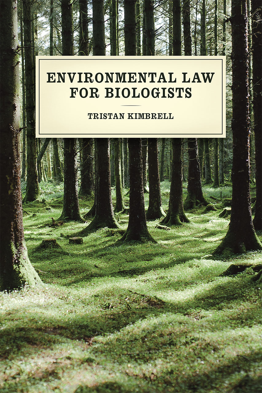 law and legal studies legal history from the university of environmental law for biologists
