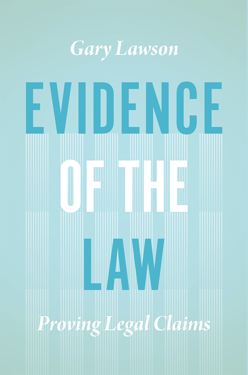 Evidence of the law proving legal claims lawson evidence of the law fandeluxe Images