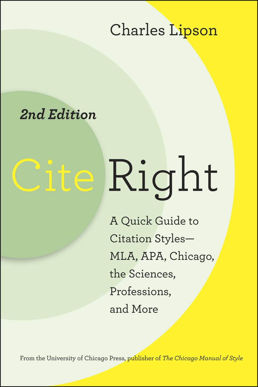 Cite right second edition a quick guide to citation styles mla addthis sharing buttons ccuart Image collections