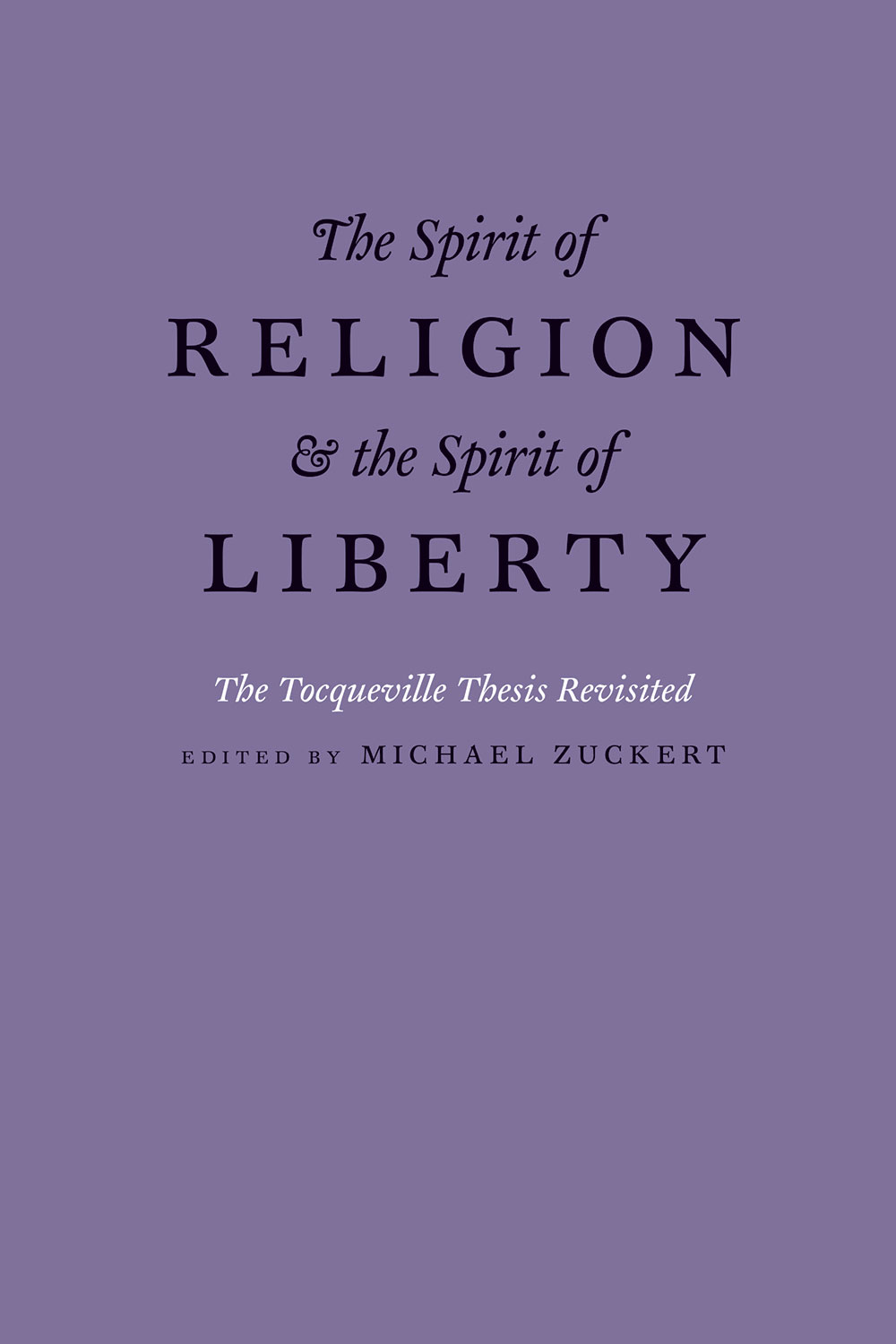 tocqueville thesis Tocqueville's inevitability thesis has prevented many readers from coming to  terms with his central concern, the problem of democracy, by drawing their.