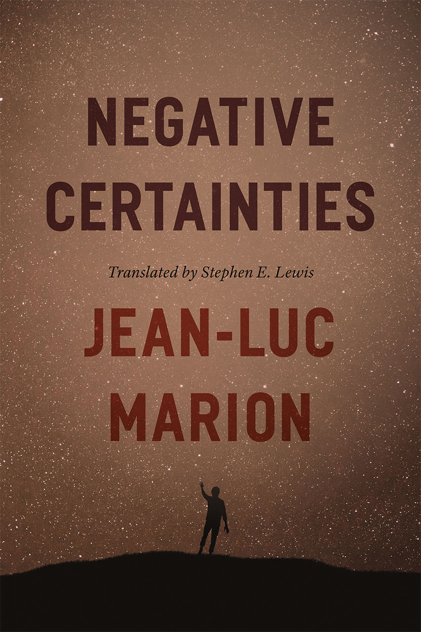 Negative Certainties Book Cover