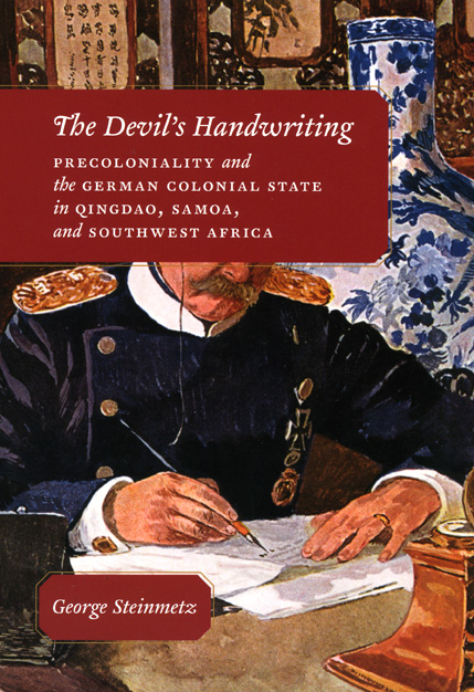the devil u2019s handwriting  precoloniality and the german