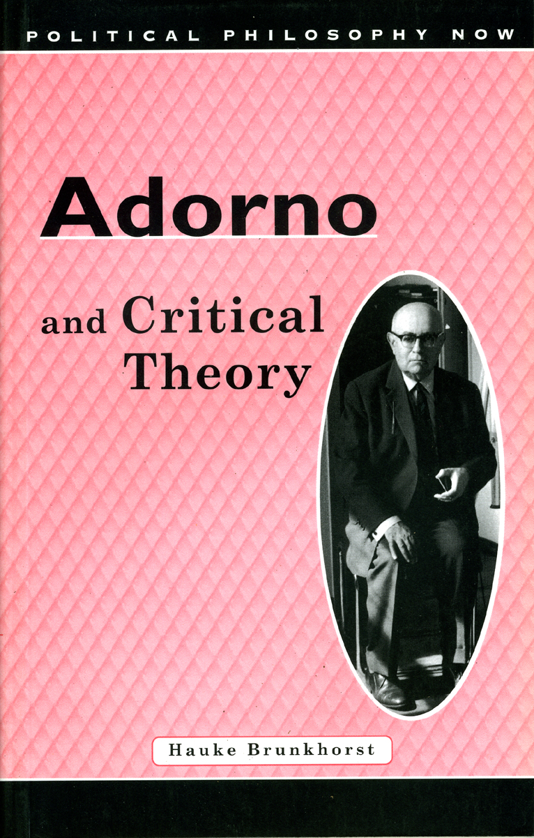 an essay on cultural criticism and society adorno