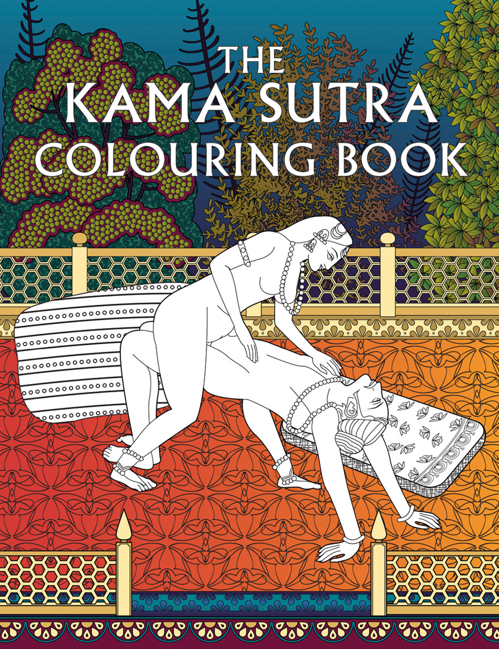 The Kama Sutra Colouring Book, Press