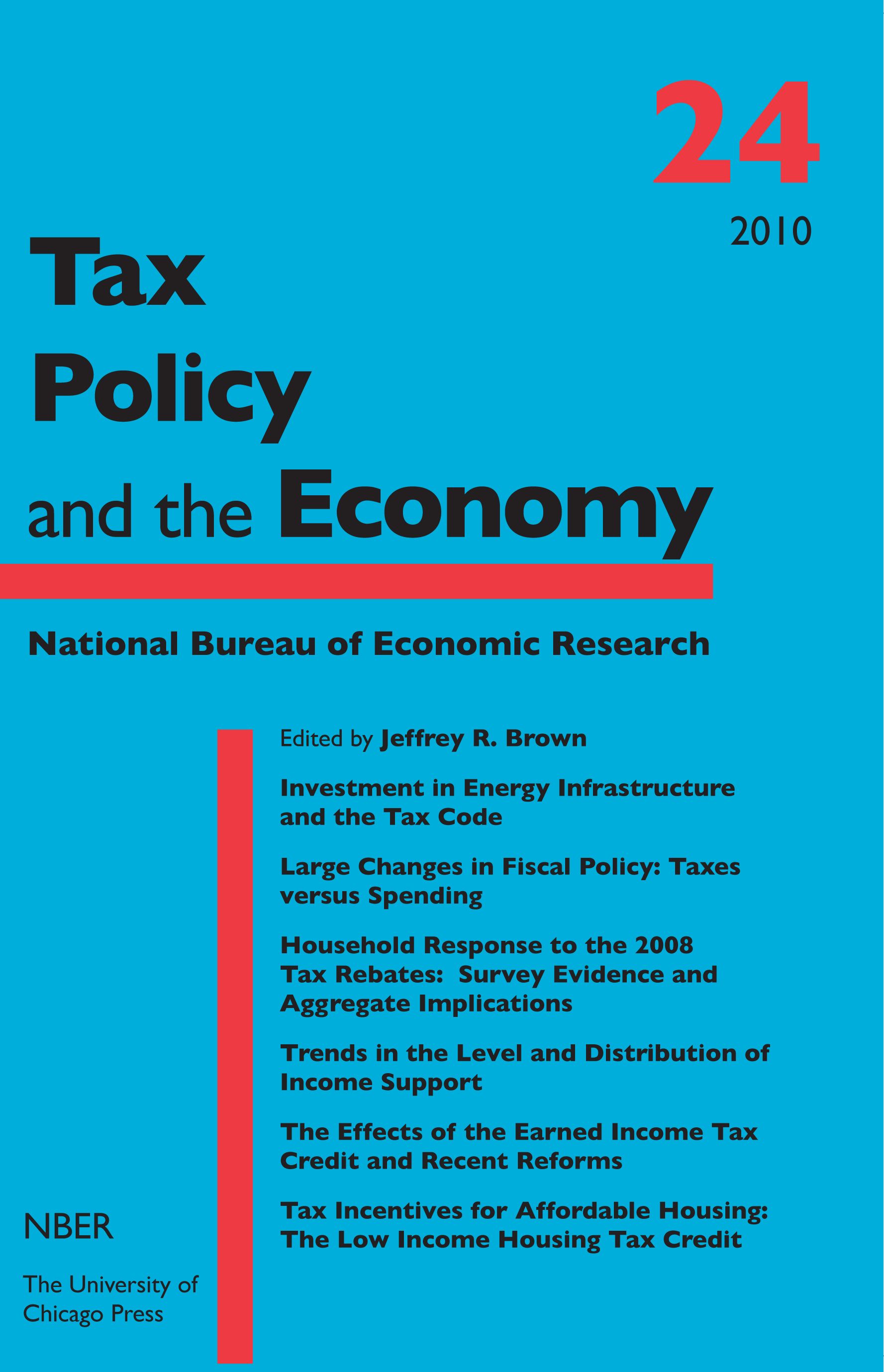 Tax Policy And The Economy Volume 24