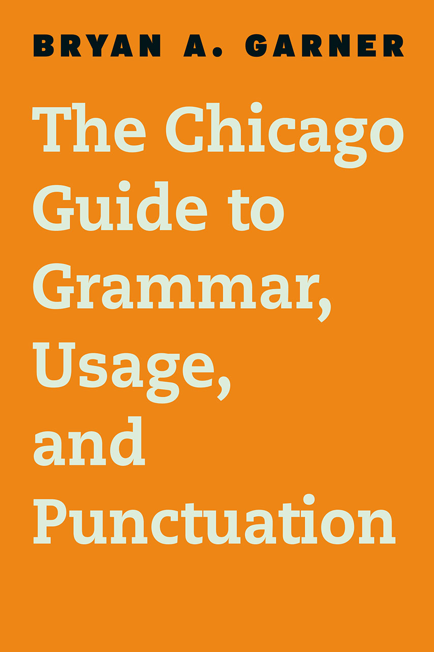 The chicago guide to grammar usage and punctuation garner addthis sharing buttons fandeluxe