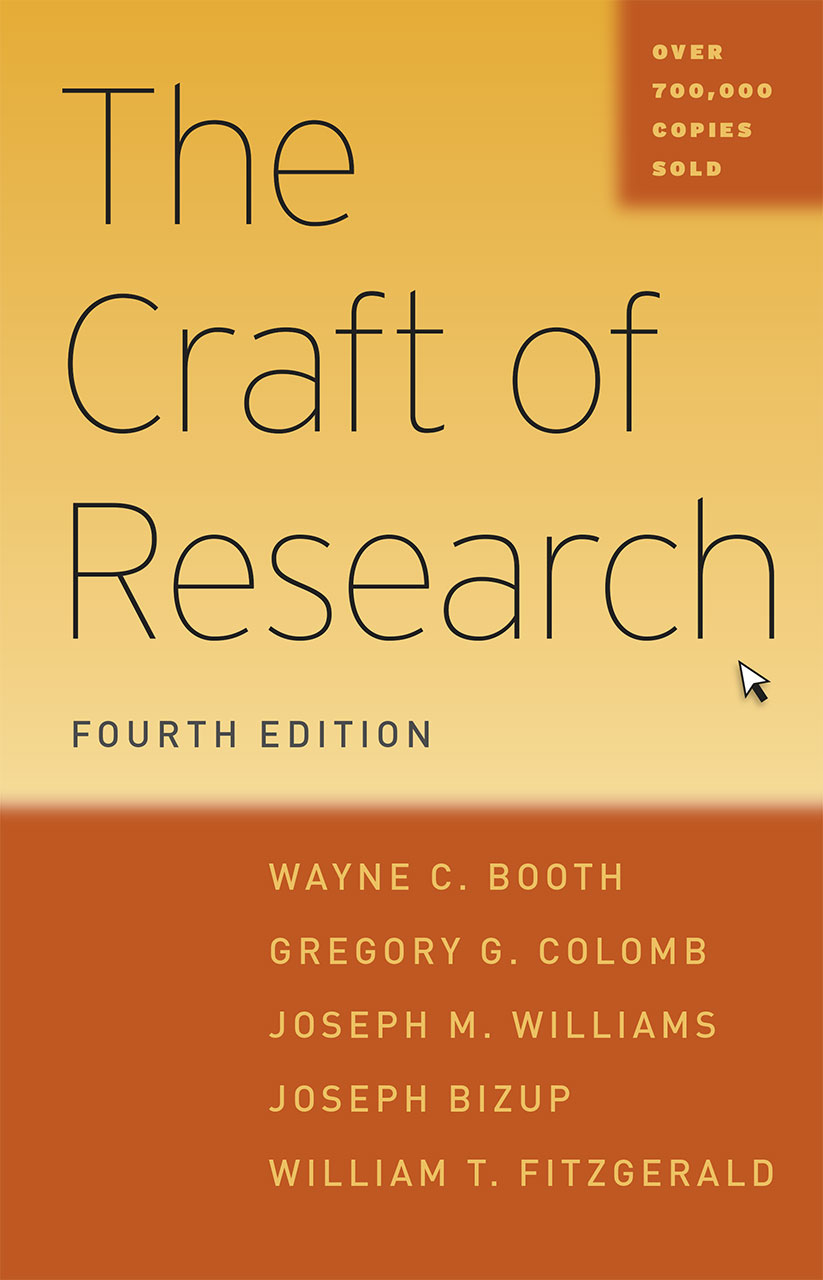 The craft of research fourth edition booth colomb williams the craft of research fourth edition fandeluxe Gallery