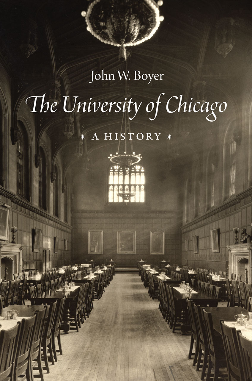 The University Of Chicago A History Boyer