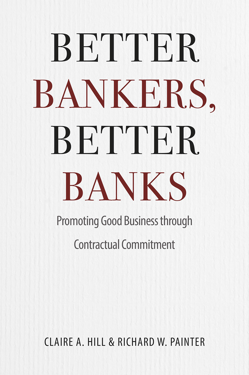 Better Bankers Better Banks Promoting Good Business Through  Better Bankers Better Banks