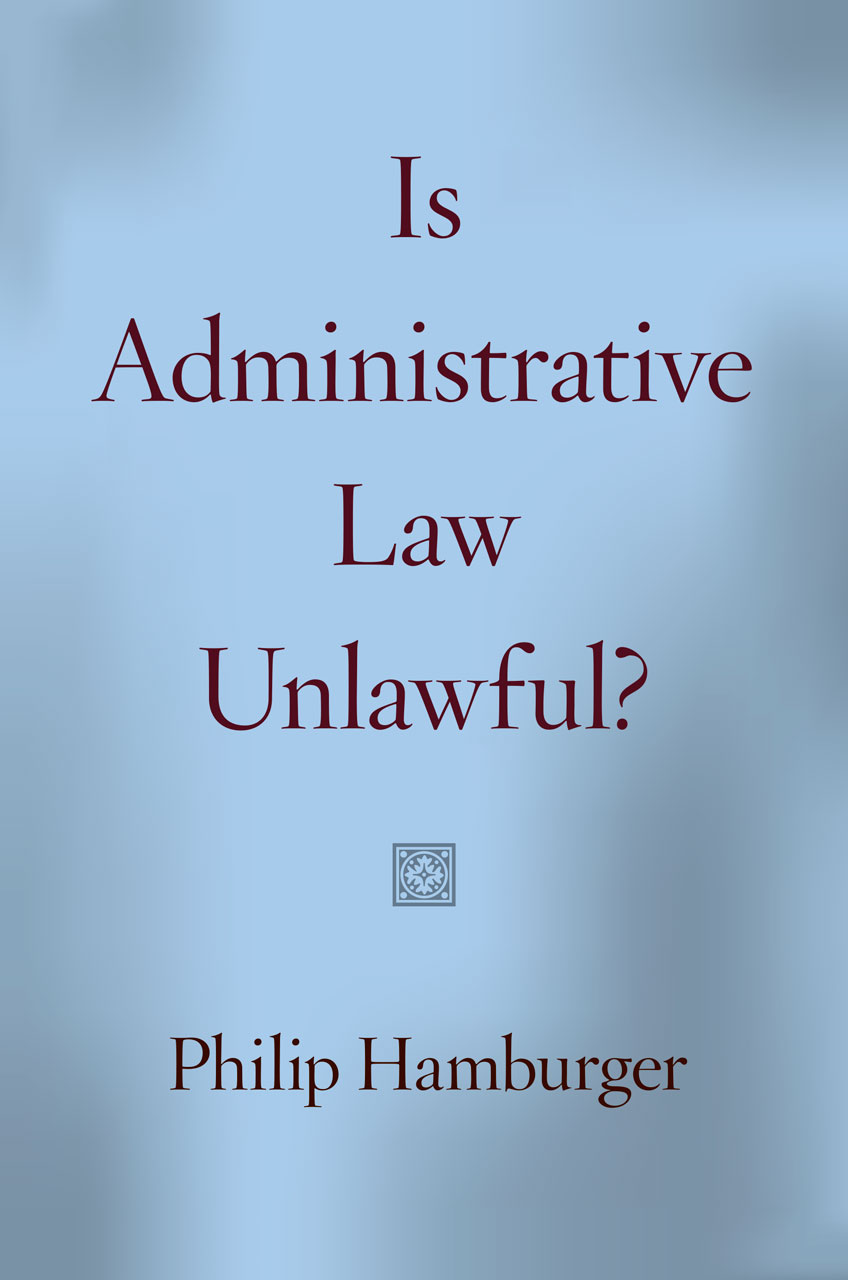 relationship between administrative law and rule of law