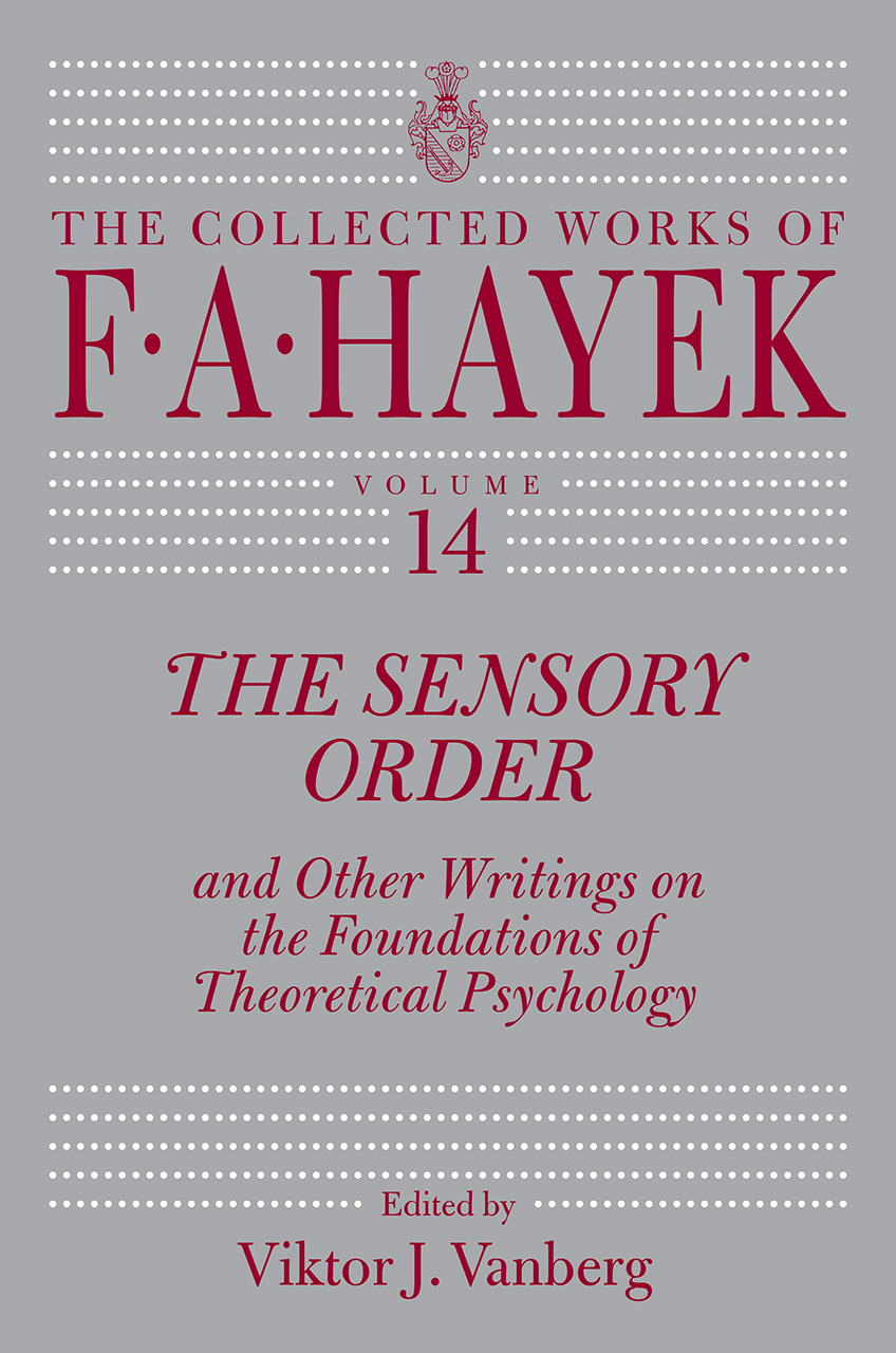 The Social Science of Hayeks the Sensory Order