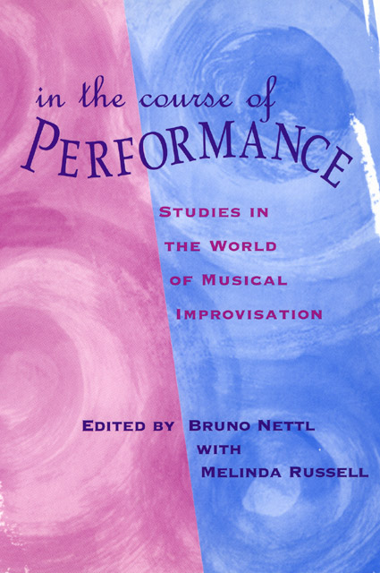 f582257e08b6b In the Course of Performance  Studies in the World of Musical ...