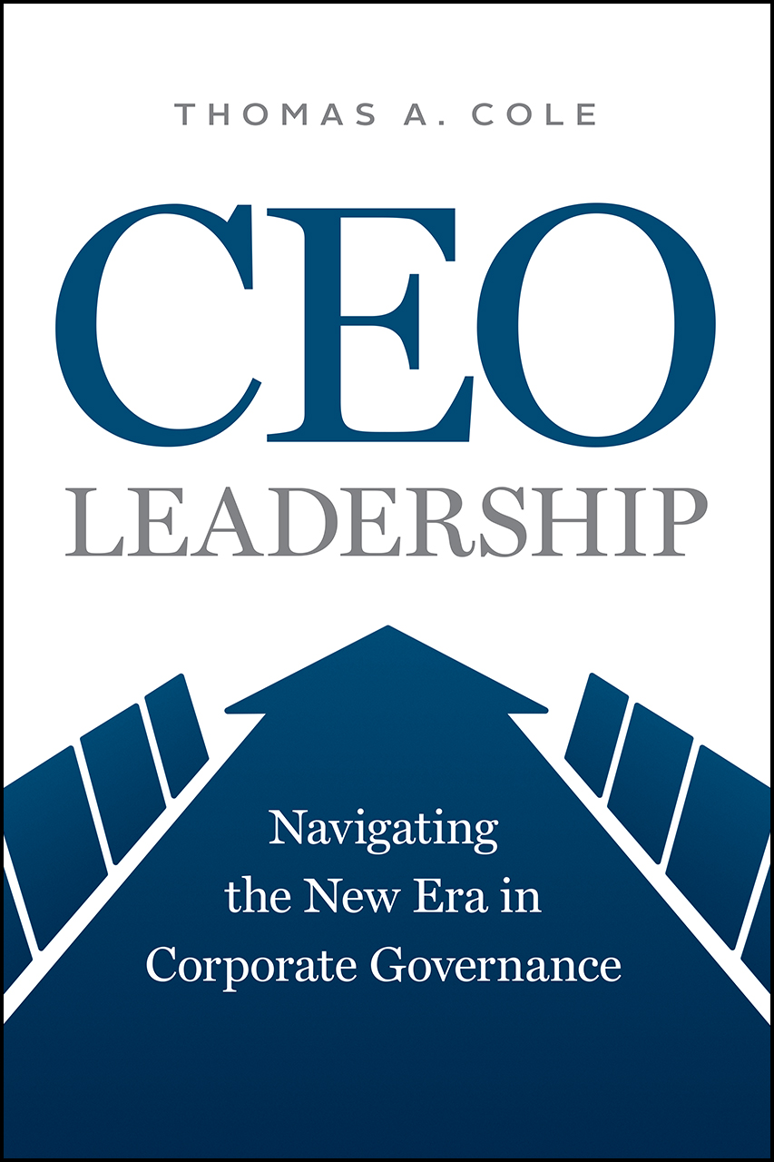 CEO Leadership book cover