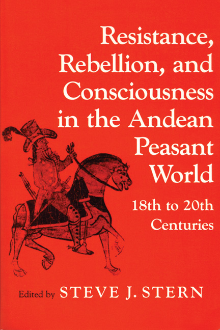 Resistance, Rebellion, and Consciousness in the Andean Peasant