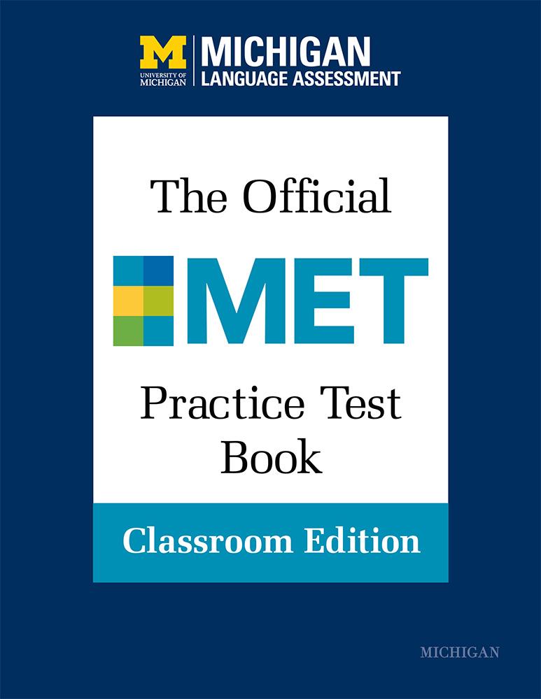 Official MET Practice Test Book, Classroom Edition