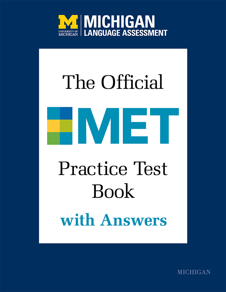 Official MET Practice Test Book with Answers
