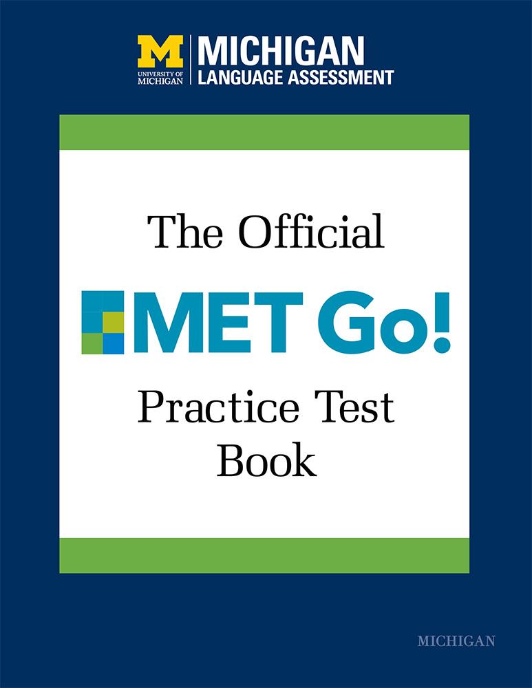 Official MET Go! Practice Test Book