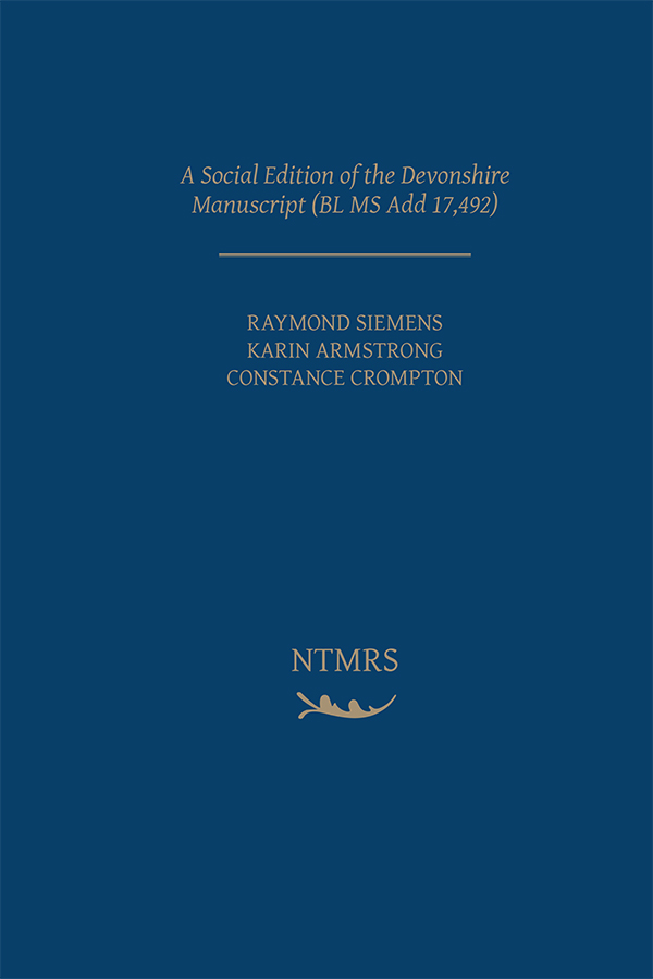 Social Edition of the Devonshire Manuscript (BL MS Add 17,492)
