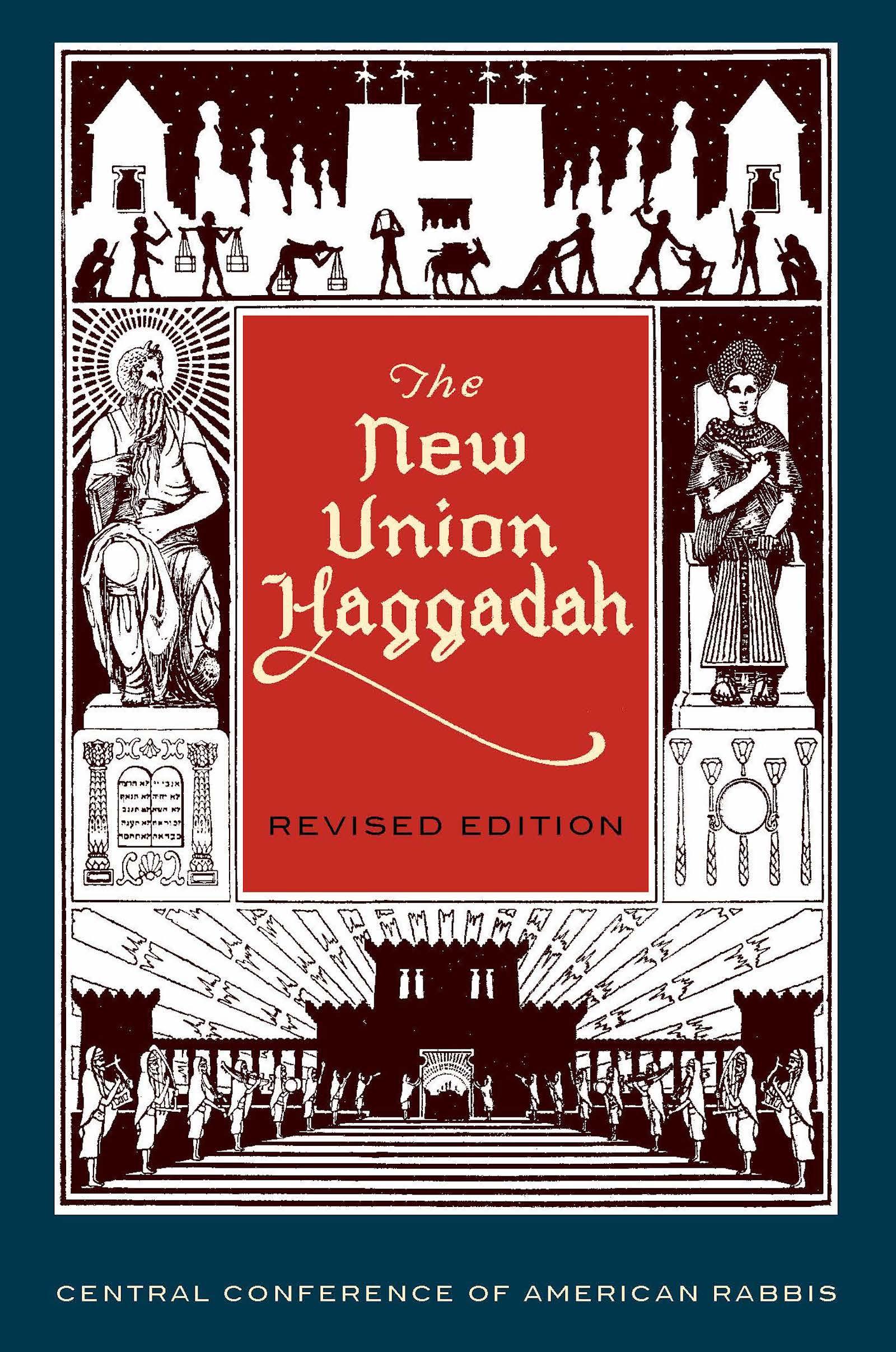 New Union Haggadah, Revised Edition, Large Print