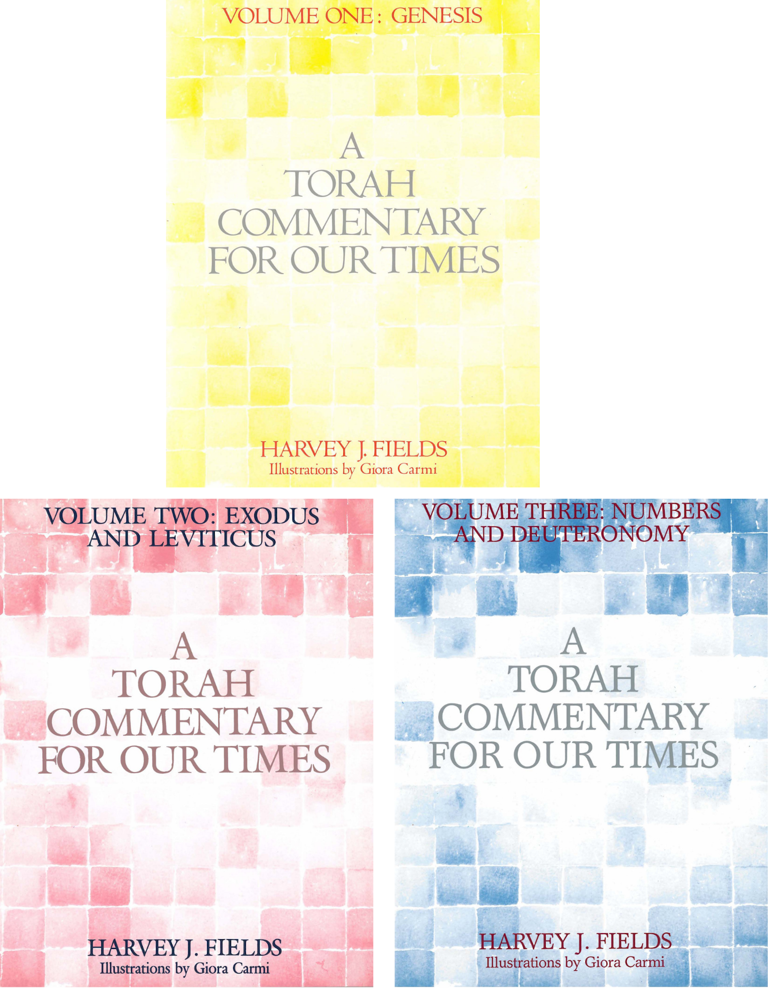 Torah Commentary for Our Times: Three-Volume Set