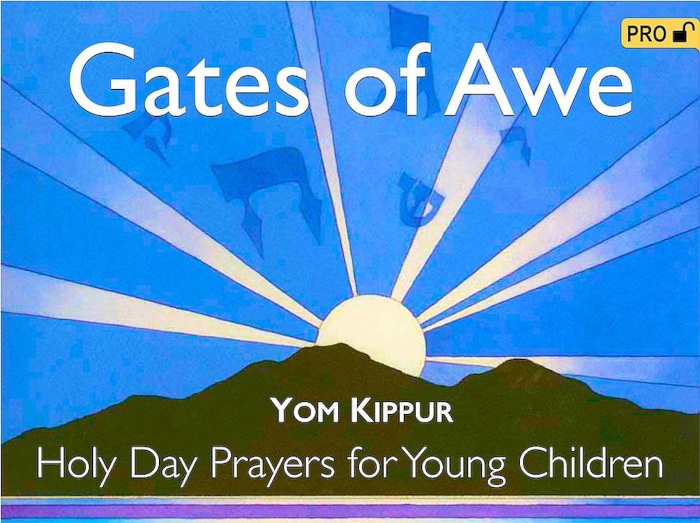 Gates of Awe - Visual T'filah (Yom Kippur) Pro