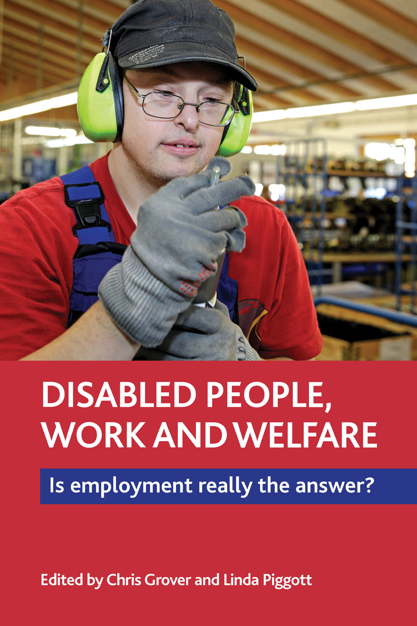 Disabled People Work And Welfare Is Employment Really