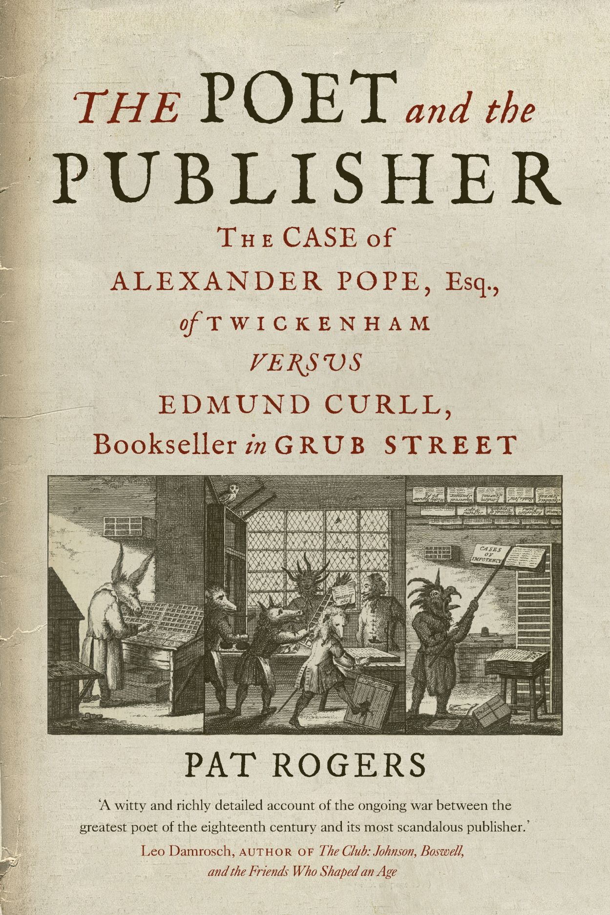 Cover of The Poet and the Publisher