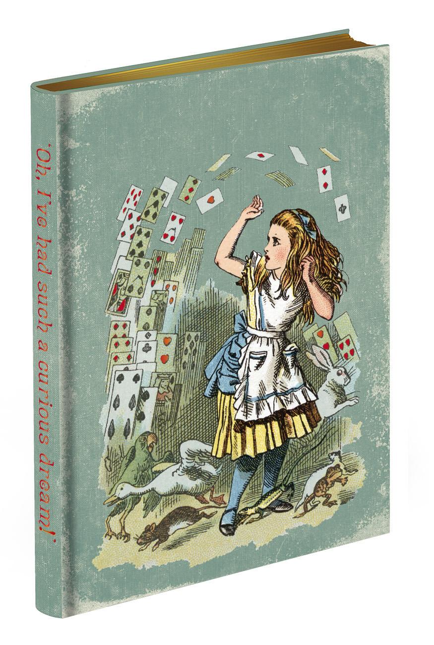 Alice in Wonderland Journal - Alice in Court