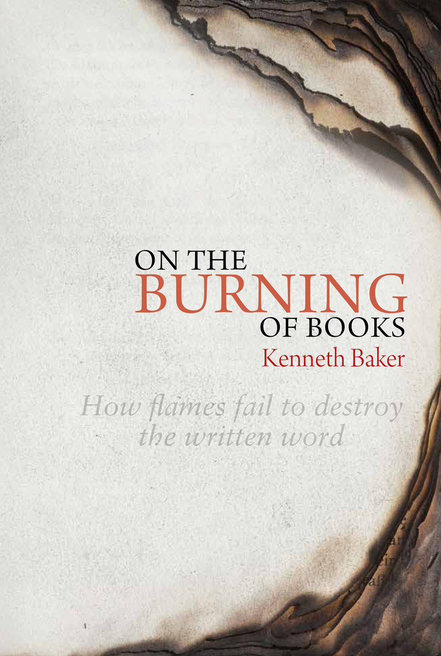 on the burning of books how flames fail to destroy the written word