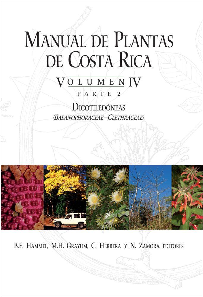 Manual de Plantas de Costa Rica, Volumen IV, Parte 2