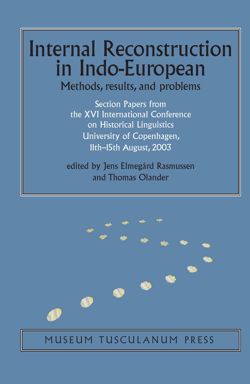 Internal Reconstruction in Indo-European