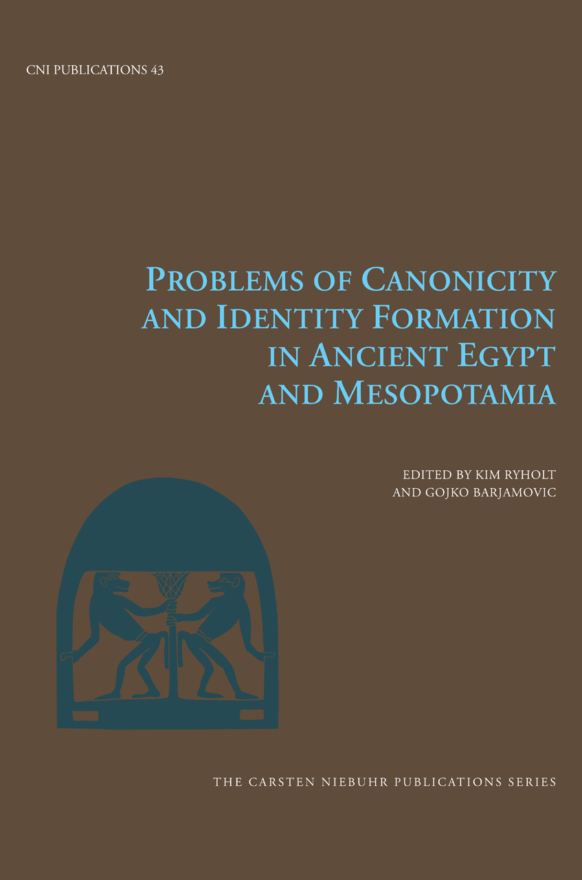 Problems of Canonicity and Identity Formation in Ancient Egypt