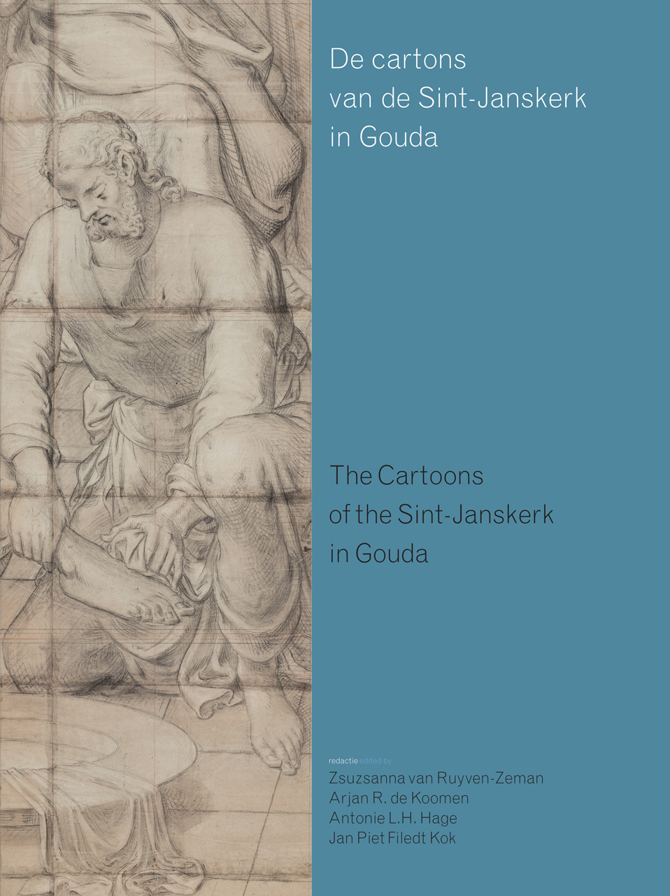 Cartoons of the Sint-Janskerk in Gouda